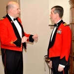 Commanding Officer, LCol James McKay and Brigade Commander Col Howard Coombs