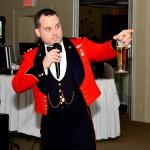 Evening MC and Ball organizer, Capt Steve Covell