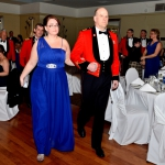 Commanding Officer, LCol James McKay and his wife Janet Wilson