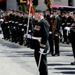 Princess of Wales Own Regiment Freedom of the City Parade