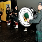 Princess of Wales' Own Regiment Pipes and Drums.
