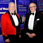 Honorary Lieutenant-Colonel Dr. John Scott Cowan and Mr. Geoff Sandiford, Vice President of the Community Foundation for Kingston and Area