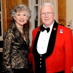The Right Honourable Beverley McLachlin, P.C., Chief Justice of Canada/ Honorary Lieutenant-Colonel Dr. John Scott Cowan