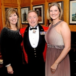 Ms. Jackie St. Pierre, Marketing Manager City of Kingston/ Lieutenant General Peter Devlin, Commander of the Army/ Ms. Julie Brown, News Anchor CKWS