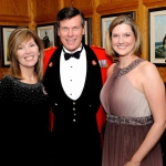 Ms. Jackie St. Pierre, Marketing Manager City of Kingston / Honorary Colonel M. Hutchings / Ms. Julie Brown, News Anchor CKWS