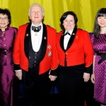 Lorna Woods / Honorary Colonel Emeritus Baron Cyril Woods/ Capt Debra St. Gelais/ Ms. Grace Kwok
