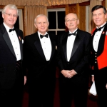 Tim Wilkin, Managing Partner Cunningham Swan LLP/ Brigadier-General (Ret) Ernie Beno/ Mr. William James, Vice President BMO Bank of Montreal / Honorary Colonel M. Hutchings