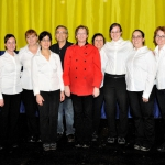 The wonderful serving staff of Bert's Catering