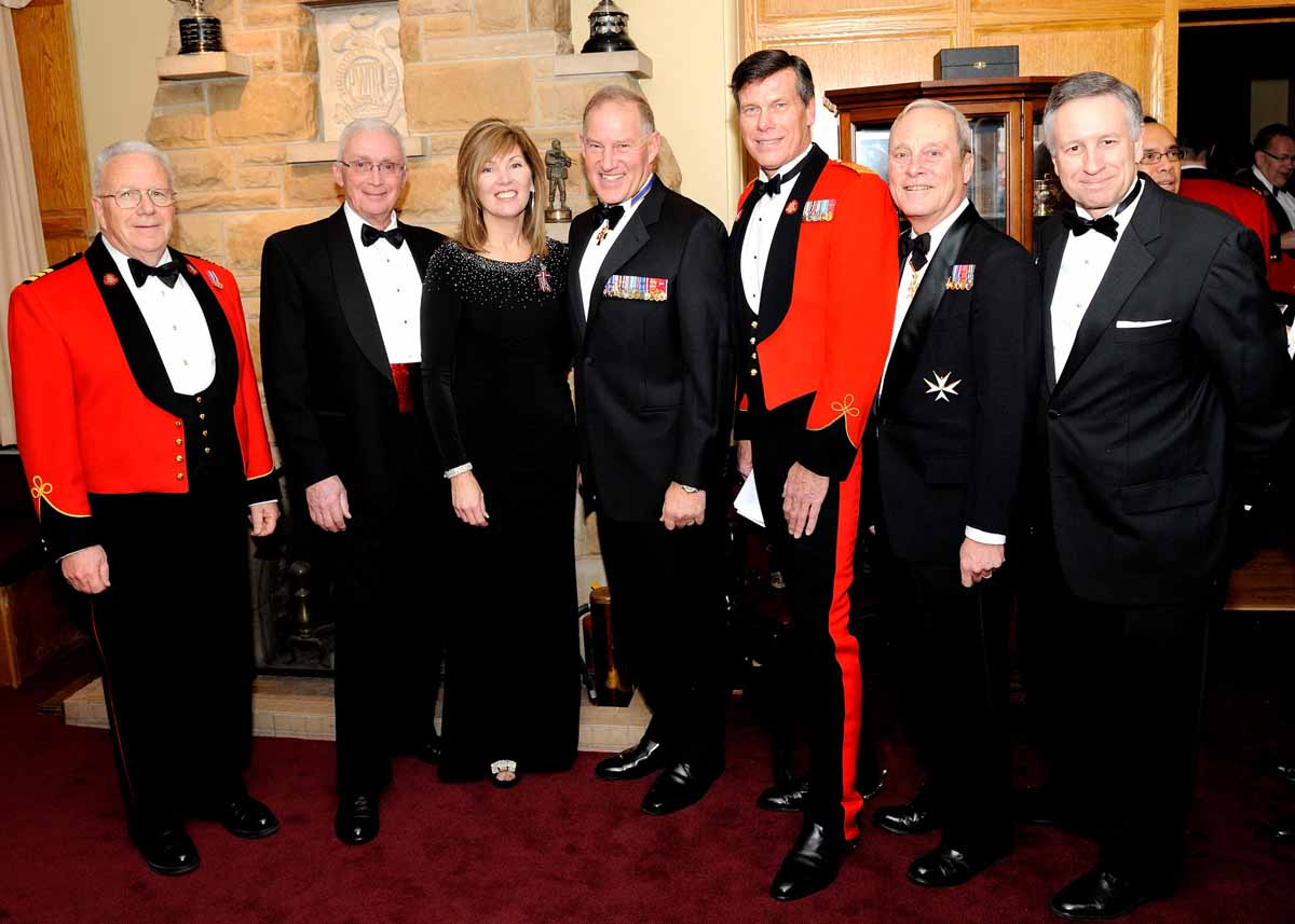 Pwor 150yr Anniversary Mess Dinner Princess Of Wales Own Regiment Foundation